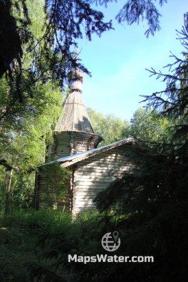 Церковь Николая чудотворца на о.Троицкий