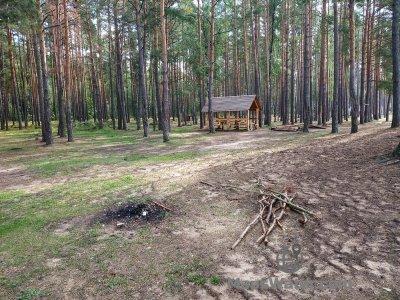 Стоянка Пески-3 возле д. Малое Стахово
