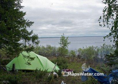 Ночевка на озере Варчаты