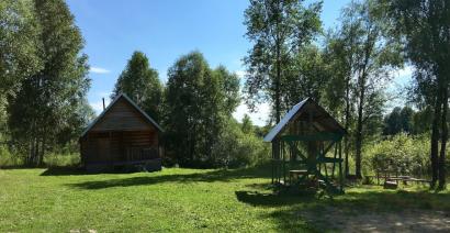 Озеро Красилово, кемпинг