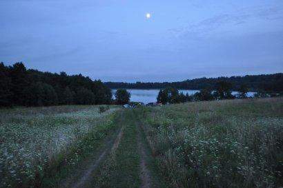 Стапель на озере Муроги