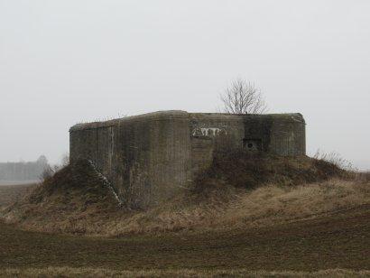 Орудийно - пулеметный капонир (Опорный пункт Кудиновичи)