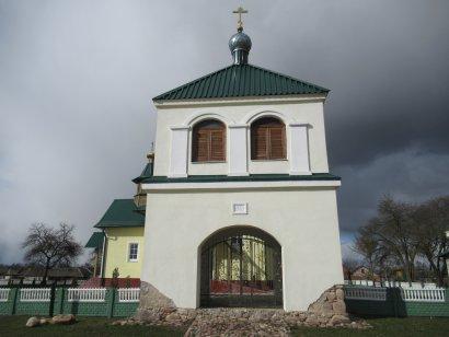 Брама-колокольня церкви св. Николая (аг.Тимковичи)