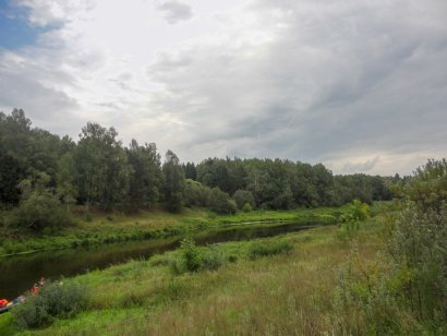 Стоянка у Андрюшинского ручья